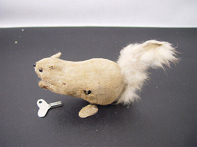 Vintage Hopping Squirrel Wind-Up Toy Japan