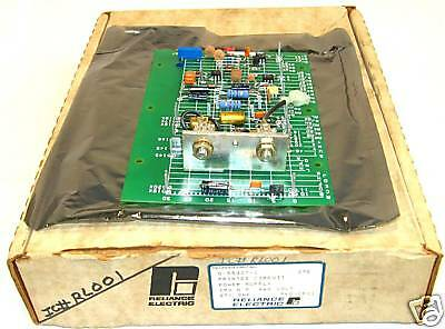 New! Reliance Drive 0-55307-1 460v Power Supply Card