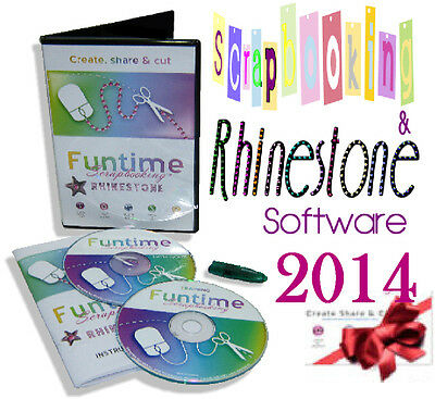 Rhinestone Strass FUNTIME SCRAPBOOKING 2014 Software personal Die cutter CRAFTRO