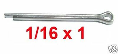 1/16 x 1 Stainless Split Cotter Pins - 1.6mm x 25 Stainless Split Pins x50