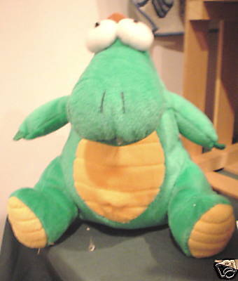 RUSS BERRIE'S GOOBERT the PLUSH GREEN DRAGON