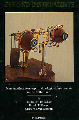 Eye and Instruments: 19th Century Opthalmological (going out of business sale)