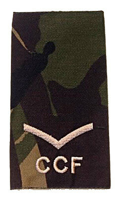 Pair Of L/corporal Combined Cadet Force Ccf Rank Slides
