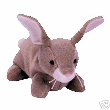 """TY Beanie Baby """"Nibbly"""" The Bunny MWMT 5th Gen Retired"""