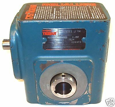 """New! Dodge Tigear 25:1 Hollow 1"""" Speed Reducer A175S025"""