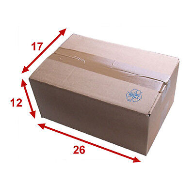 25 boîtes emballages cartons  n° 26   - 260x170x120 mm - simple cannelure