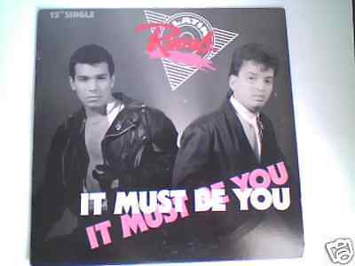 "LATIN RASCALS It must be you 12"" TODD TERRY LOUIE VEGA"