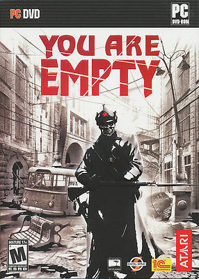 YOU ARE EMPTY - 1950s Soviet Union Iron Curtain Russian Shooter PC Game - NEW!