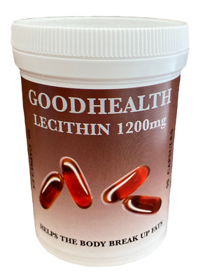 Goodhealth Lecithin 1200mg 180 capsules (2 x 90) - Potted