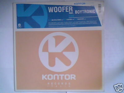 """WOOFER feat. BOYTRONIC You 12"""" ITALY"""
