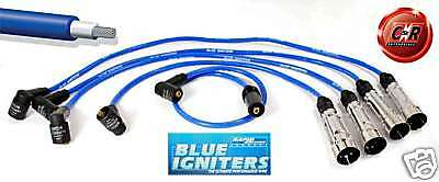 Blue Igniters Ignition Leads Golf 3 1.4 & 1.6 75bhp PL