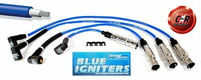 Blue Igniters Ignition Leads Golf 4 1.6 8v & 2.0 8v G48
