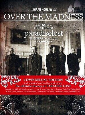 """Paradise Lost """"over The Madness"""" 2 Dvd Digipack Limited"""