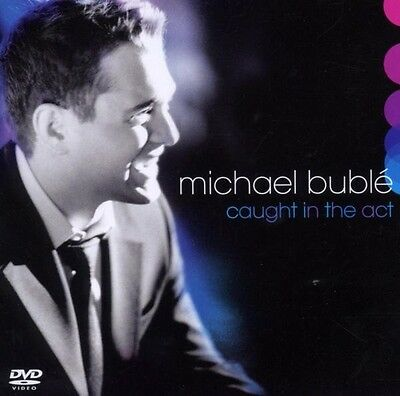 """Michael Buble """"caught In The Act-Live"""" Cd+Dvd Neuware!!"""