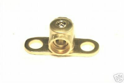 Ground Ring Terminal 0/2 Gauge Gold Plated Gt02G