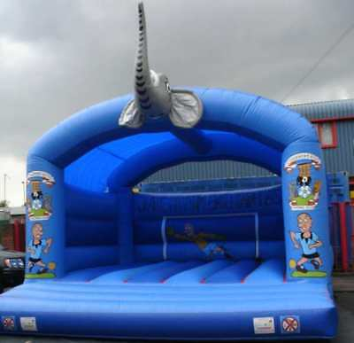 Elephant With Head Bouncy Castle 11.5 FT X 11.5 FT Made To Order