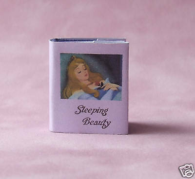 Dollshouse Miniature Book - Sleeping Beauty