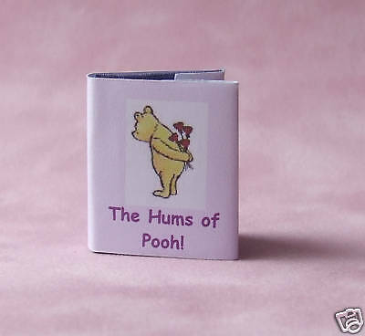 Dollshouse Miniature Book - The Huns of Pooh