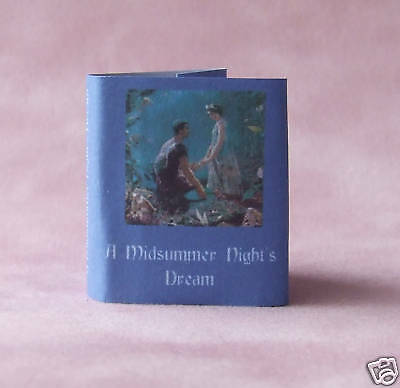 Dollshouse Miniature Book - Midsummer Nights Dream
