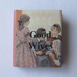 Dollshouse Miniature Book - Good Wives