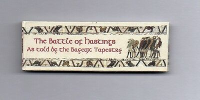 Dollshouse Miniature Book - Battle of Hatings/Bayeux Tapestry