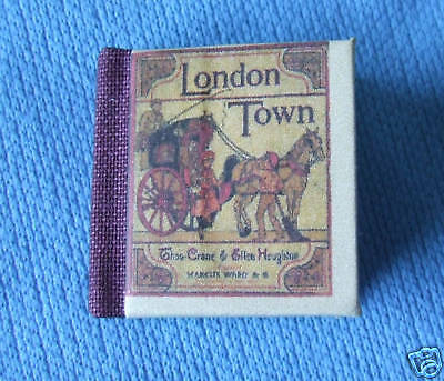 Dollshouse Miniature Book - London Town