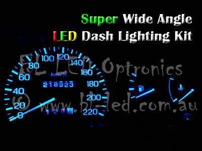 Blue 6-LED Dash Light For Magna TJ TE TF TH TR TS, 4pcs
