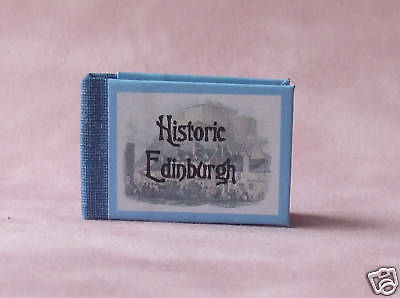 Dollshouse Miniature Book - Historic Edinburgh