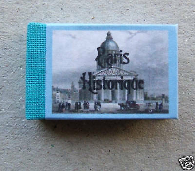 Dollshouse Miniature Book - Historic Paris