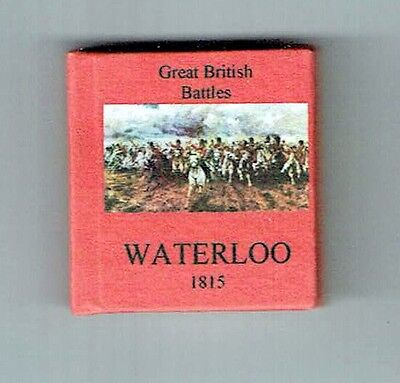 Dollshouse Miniature Book - Battle of Waterloo