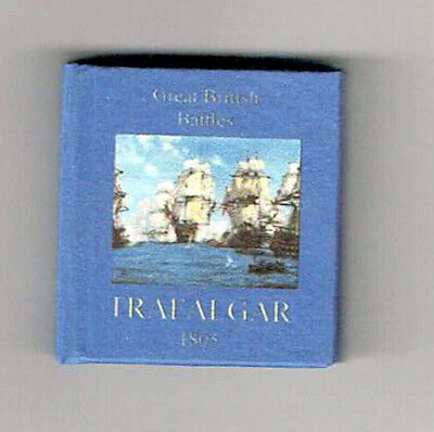 Dollshouse Miniature Book - Battle of Trafalgar
