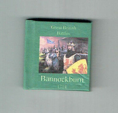 Dollshouse Miniature Book - Battle of Bannockburn
