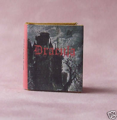 Dollshouse Miniature Book - Dracula