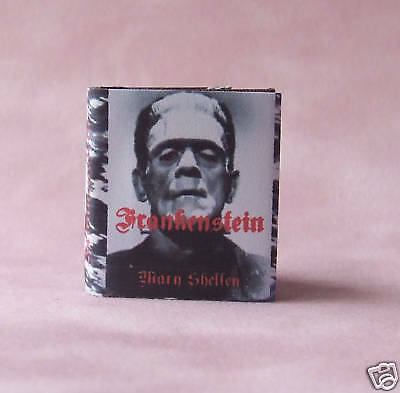 Dollshouse Miniature Book - Frankenstein
