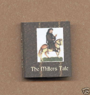 Dollshouse Miniature Book - The Millers Tale