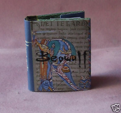 Dollshouse Miniature Book - Beowulf