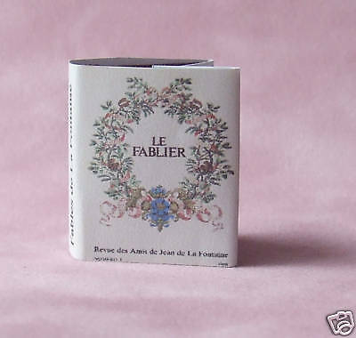 Dollshouse Miniature Book - Fables de la Fontaine