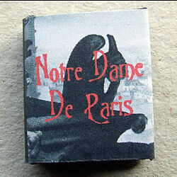 Dollshouse Miniature Book - Notre-Dame de Paris