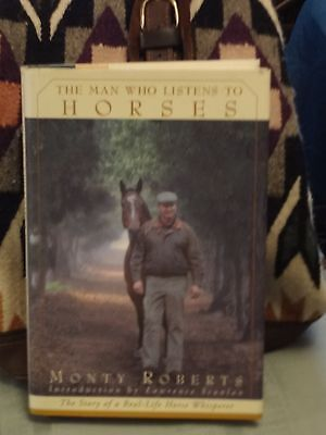 The Man Who Listens to Horses, Hardcover Book, NEW