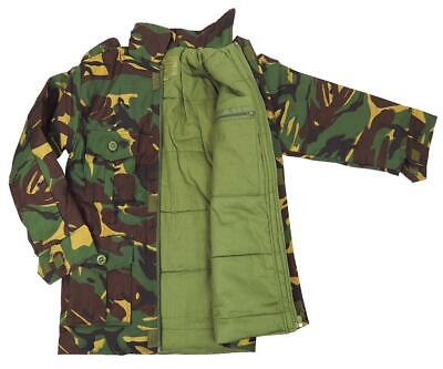CAMO COMBAT PADDED JACKET boys 9-10 yr British army Camouflage soldier coat