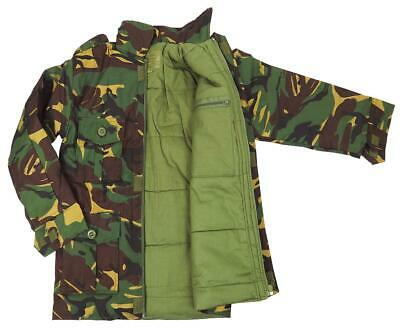 CAMO COMBAT PADDED JACKET boys 7-8 yr British army Camouflage soldier coat