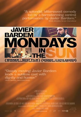 Mondays In The Sun-Original D/s  Full Size Movie Poster
