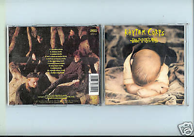 Cd Album Rhythm Corps--The Future's Not What It Used