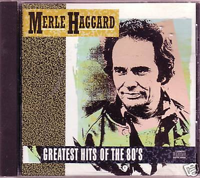 MERLE HAGGARD GREATEST Hits 80s CD Classic Country Rare