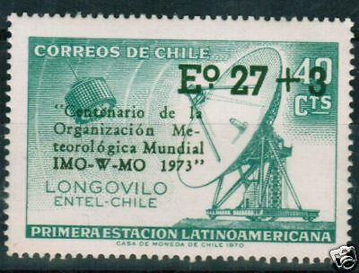Chile 1973 #834 Meteorological Organization Space MHN