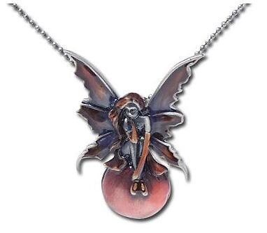 Scarlet Bubble Rider Necklace ~~25% off~~ Less than $15