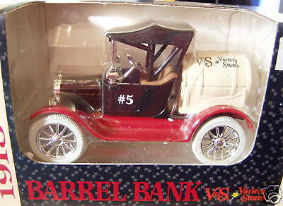 Ertl 1918 Barrel Coin Bank V & S Stores 1:25 1993