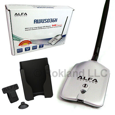 Alfa 1000mW USB Wireless-G Adapter AWUS036H LONG RANGE