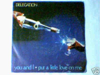 """DELEGATION You and i 7"""" ITALY UNIQUE PICTURE SLEEVE"""