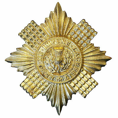 Official Scots Guards Issue Cap / Beret Badge ( INFANTRY Brigade of Guards